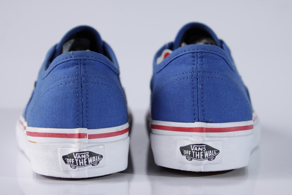 Tênis Vans - U Authentic Princess Blue/Mars Red  - No Comply Skate Shop