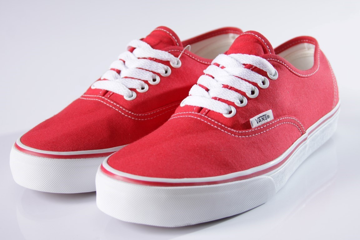 Tênis Vans - U Authentic Red  - No Comply Skate Shop