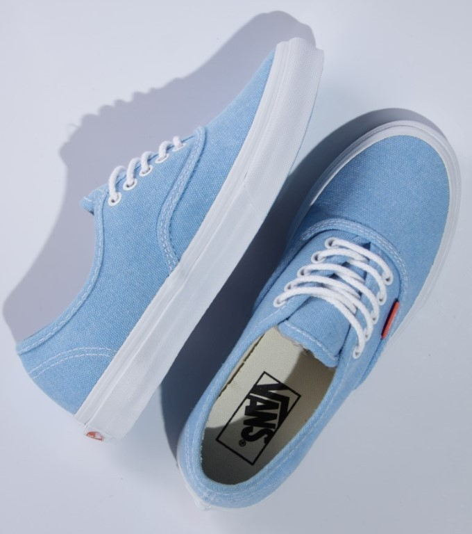 Tênis Vans - U Authentic Slim (Rope Lace) Malibu Blue/Coral - No Comply Skate Shop