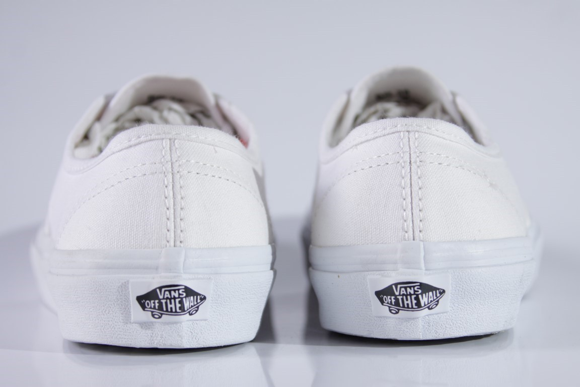 Tênis Vans - U Authentic True White  - No Comply Skate Shop