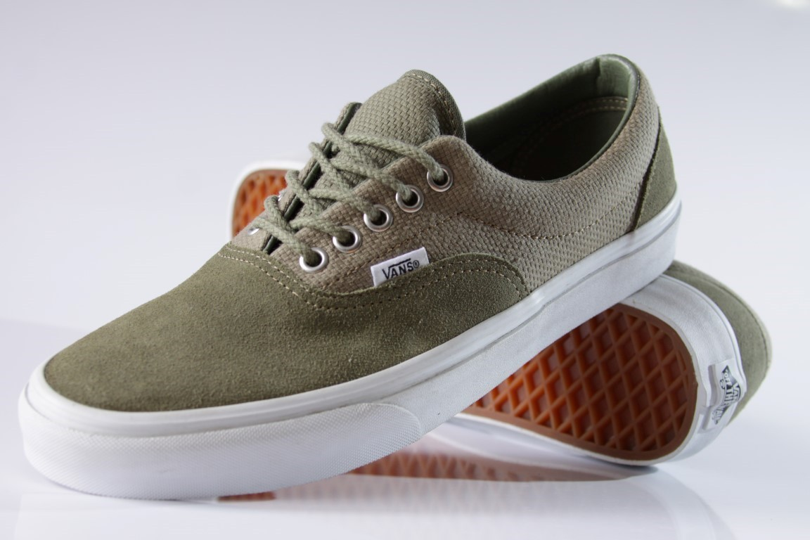Tênis Vans - U Era Deep Lichen Green (Hemp)  - No Comply Skate Shop