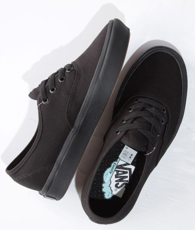 Tênis Vans - UA Comfycush Authentic Black/Black  - No Comply Skate Shop