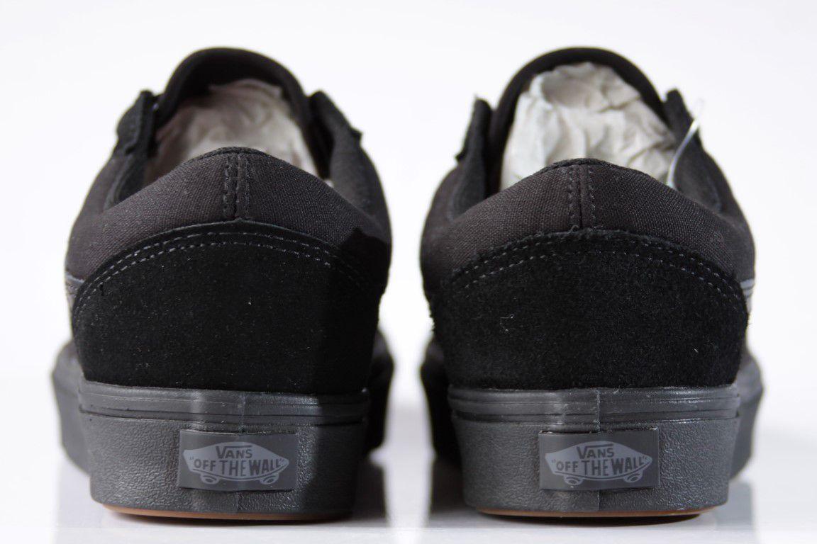 Tênis Vans - UA Comfycush Old Skool Black/Black  - No Comply Skate Shop