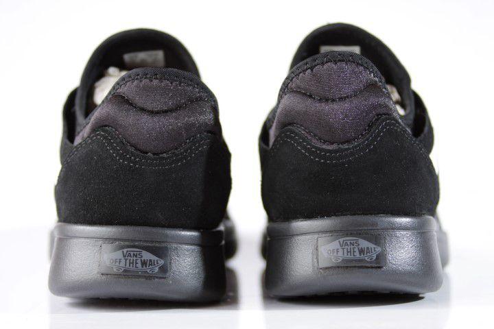 Tênis Vans - UA Iso Route (Suede/Knit) Black/Asphalt  - No Comply Skate Shop