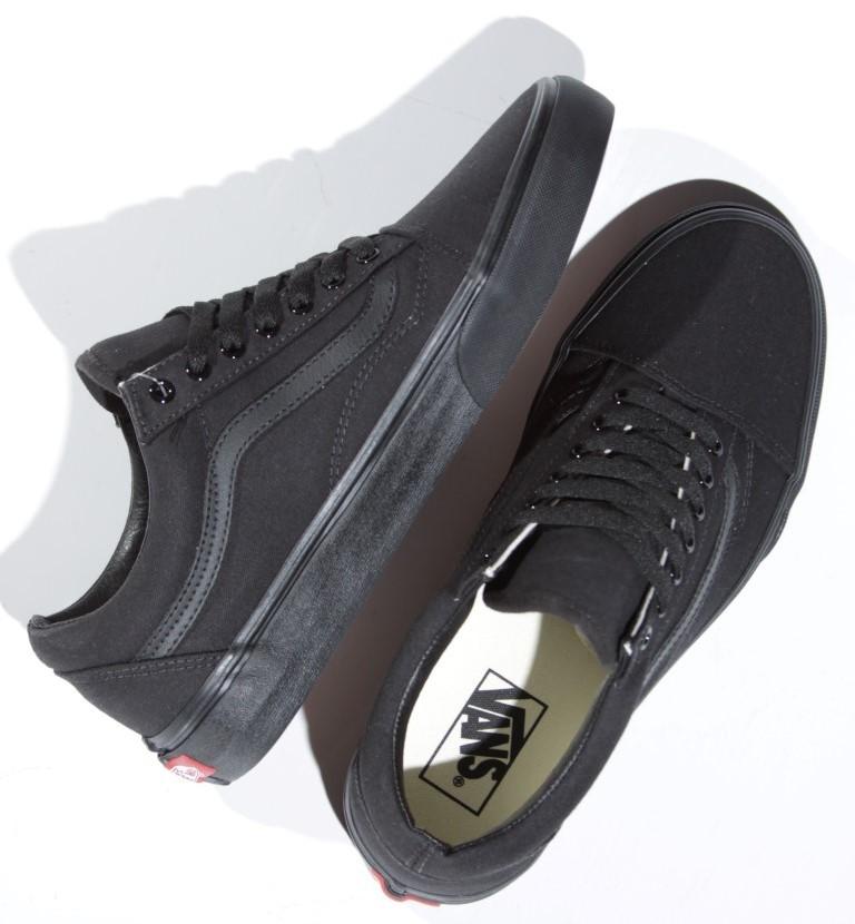 Tênis Vans - UA Old Skool Black/Black  - No Comply Skate Shop
