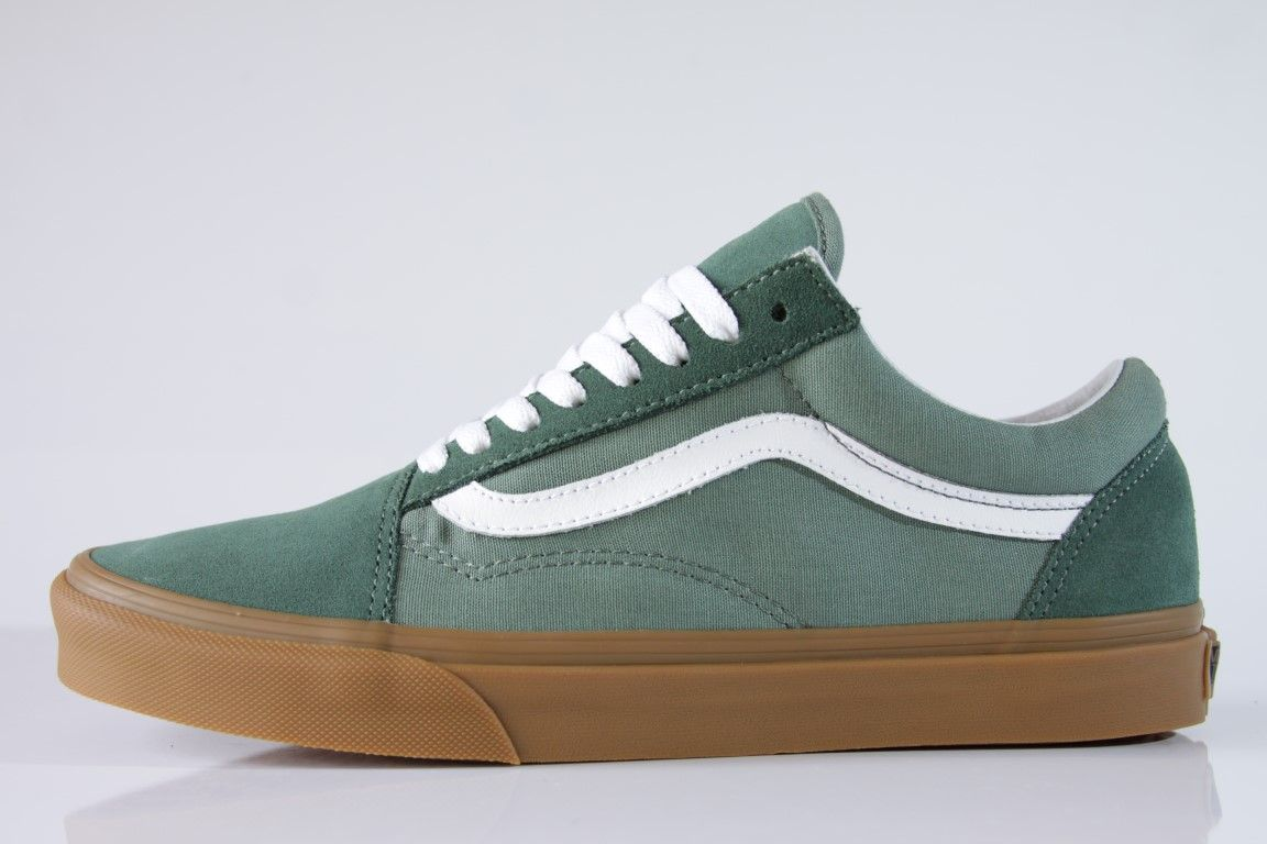 Tênis Vans - UA Old Skool Duck Green/Gum  - No Comply Skate Shop