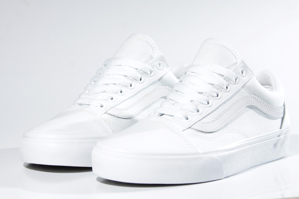 Tênis Vans - UA Old Skool True White - No Comply Skate Shop