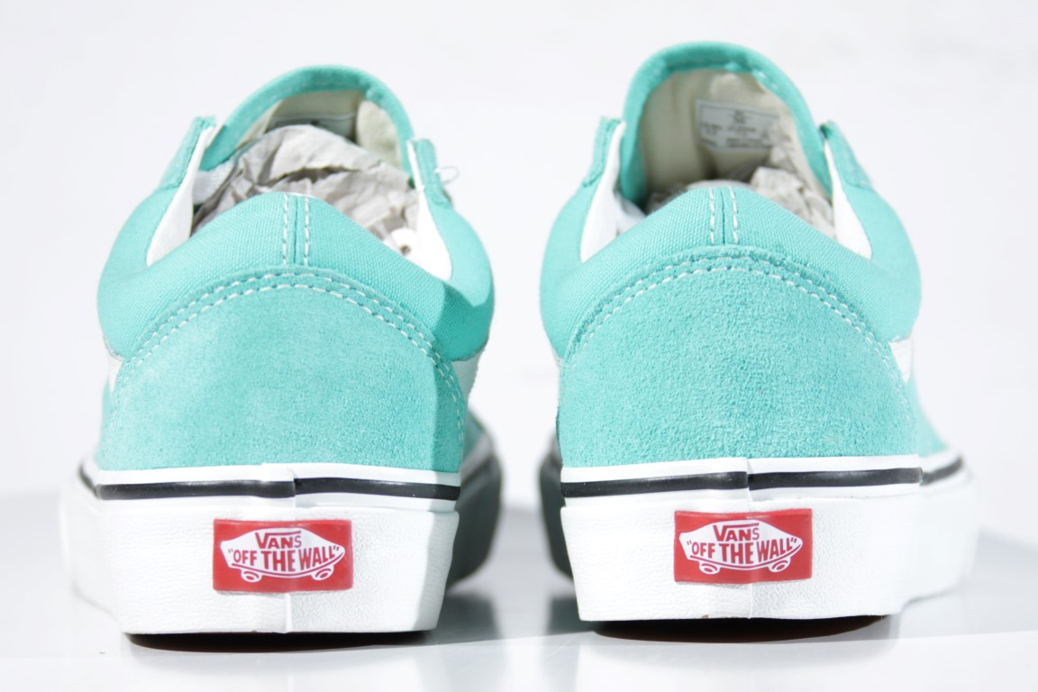 Tênis Vans - UA Old Skool Waterfall/True White  - No Comply Skate Shop
