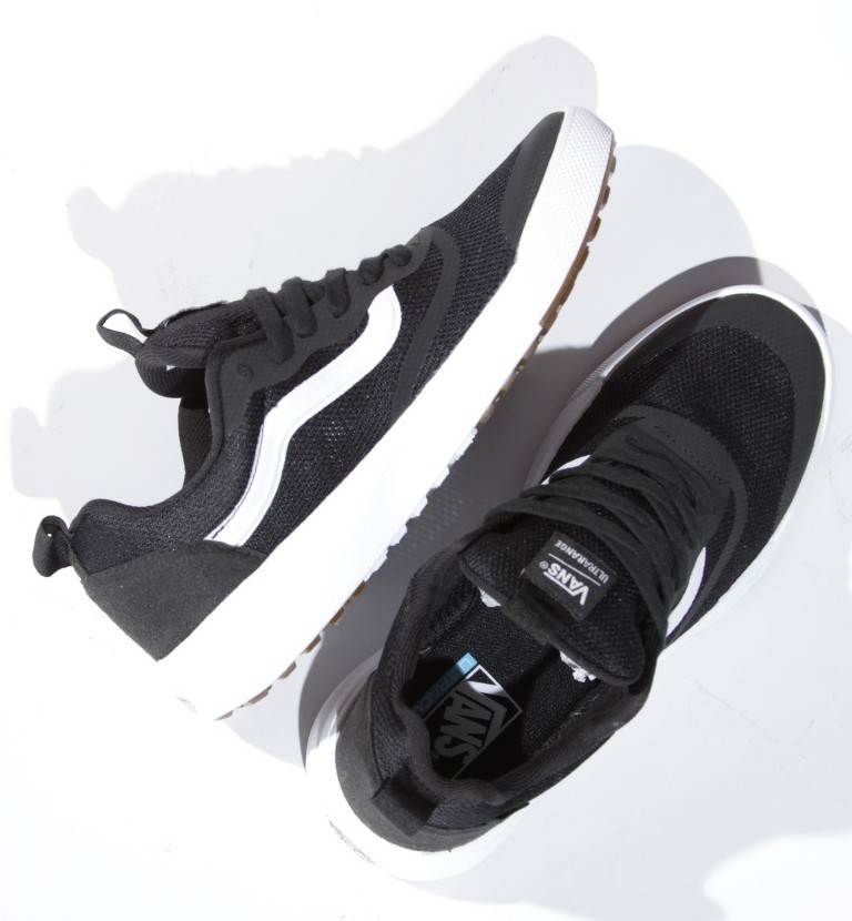 Tênis Vans - UA Ultrarange Rapidweld Black/White  - No Comply Skate Shop