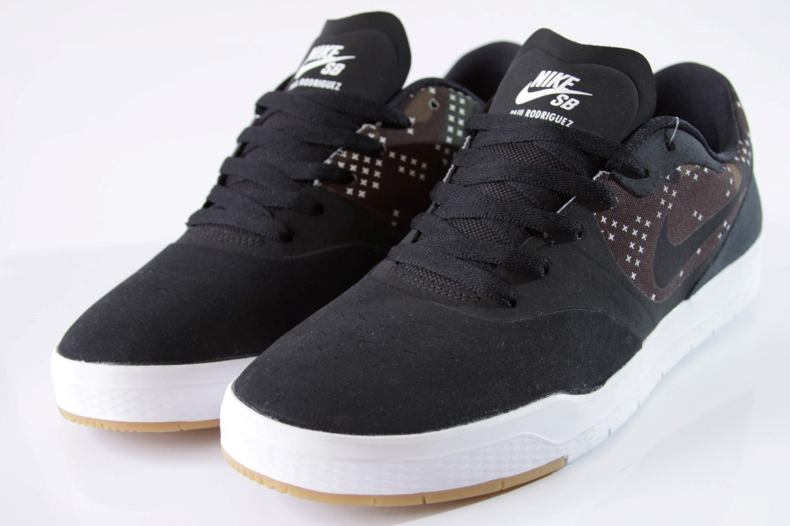 TênisNike SB - Paul Rodriguez 9 CS Black/Black-Medium Olive  - No Comply Skate Shop