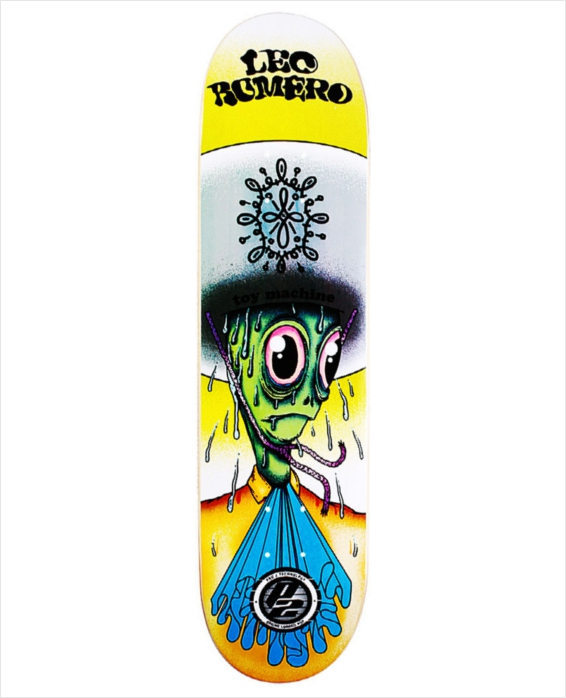 "Shape Toy Machine - Leo Romero P2 8.0""  - No Comply Skate Shop"