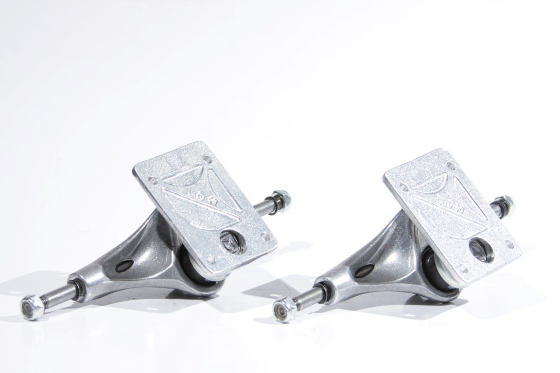 Truck Crail - Low 129 Light Classic Logo Silver  - No Comply Skate Shop