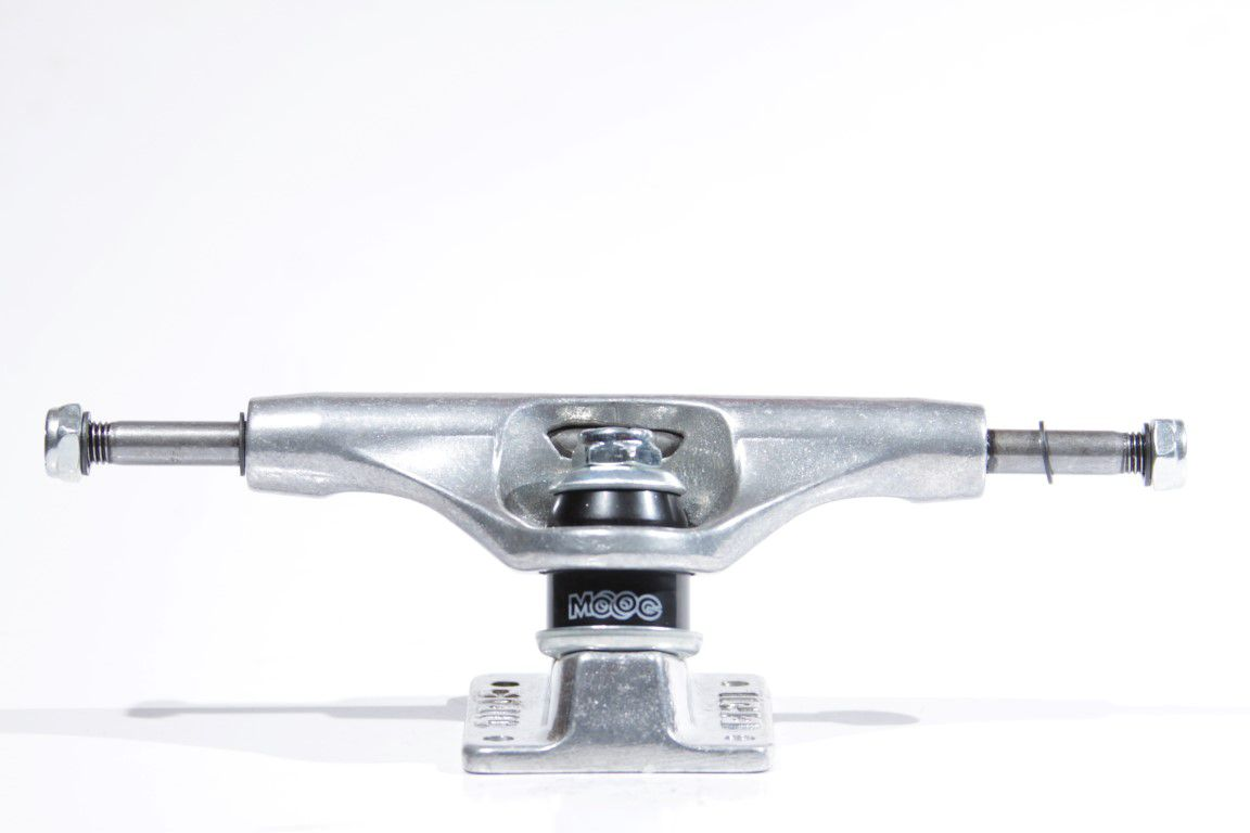 Truck Crail 129 Low Light Classic Logo Silver  - No Comply Skate Shop
