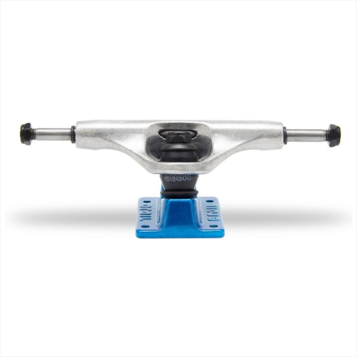 Truck Crail 129 Mid Solid Logo Blue/Silver  - No Comply Skate Shop