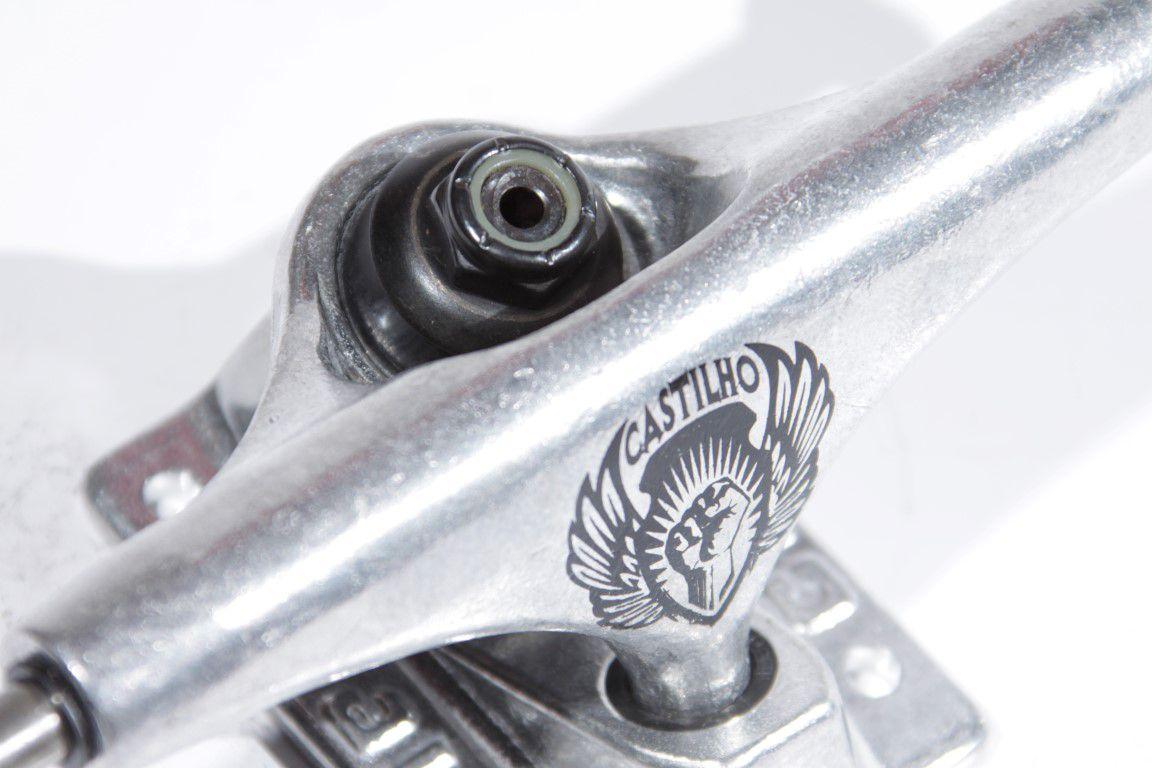 Truck Crail 133 Low The Dream Fábio Castilho Silver  - No Comply Skate Shop
