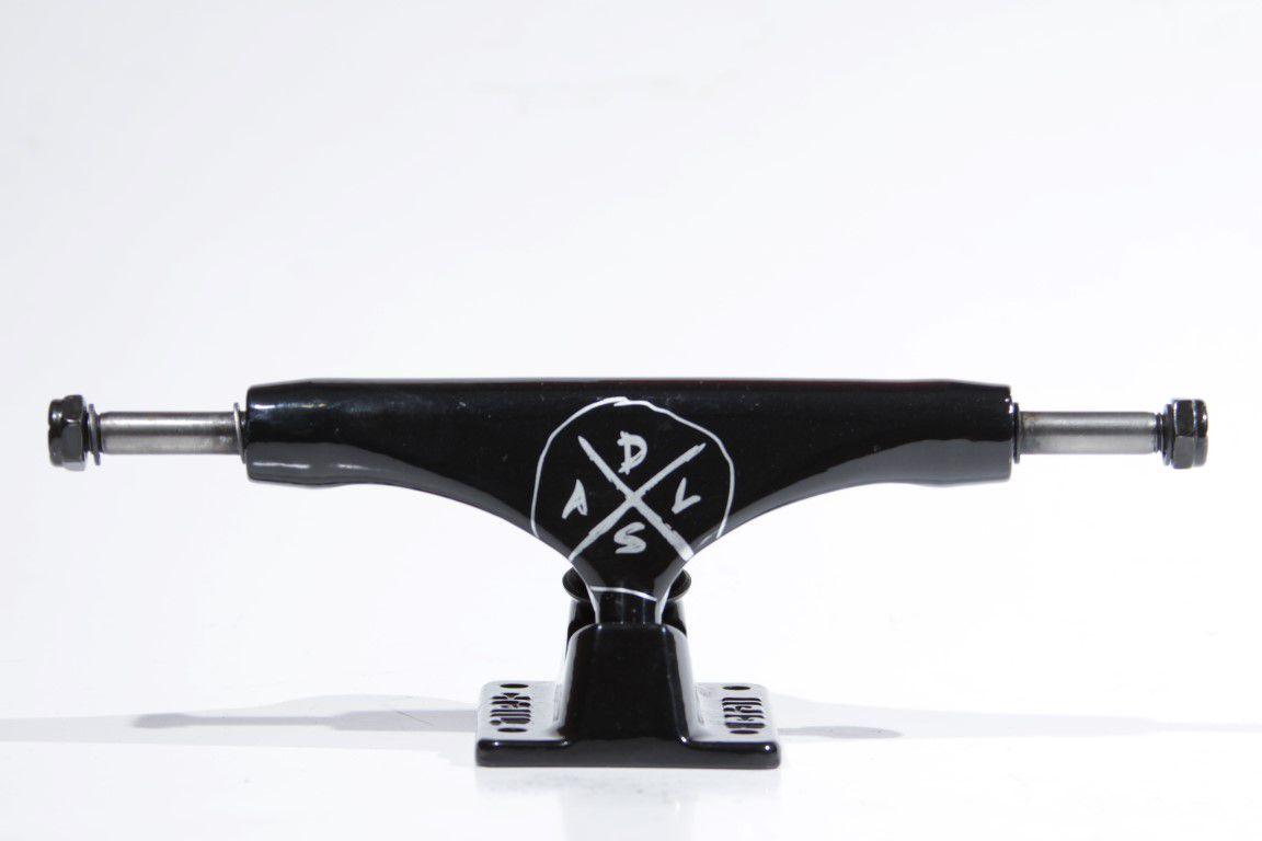 Truck Crail 136 High DSAL All Black  - No Comply Skate Shop