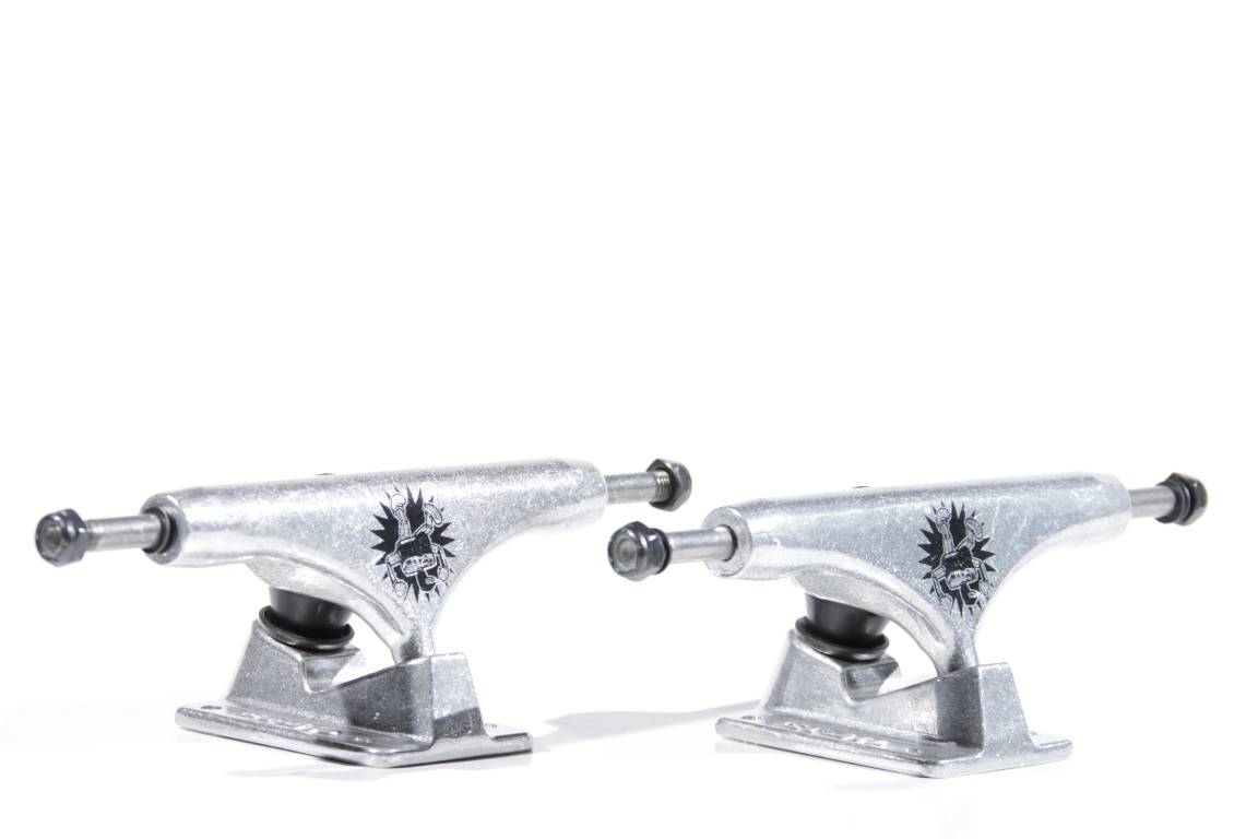 Truck Crail 146 High Netozilla Silver  - No Comply Skate Shop