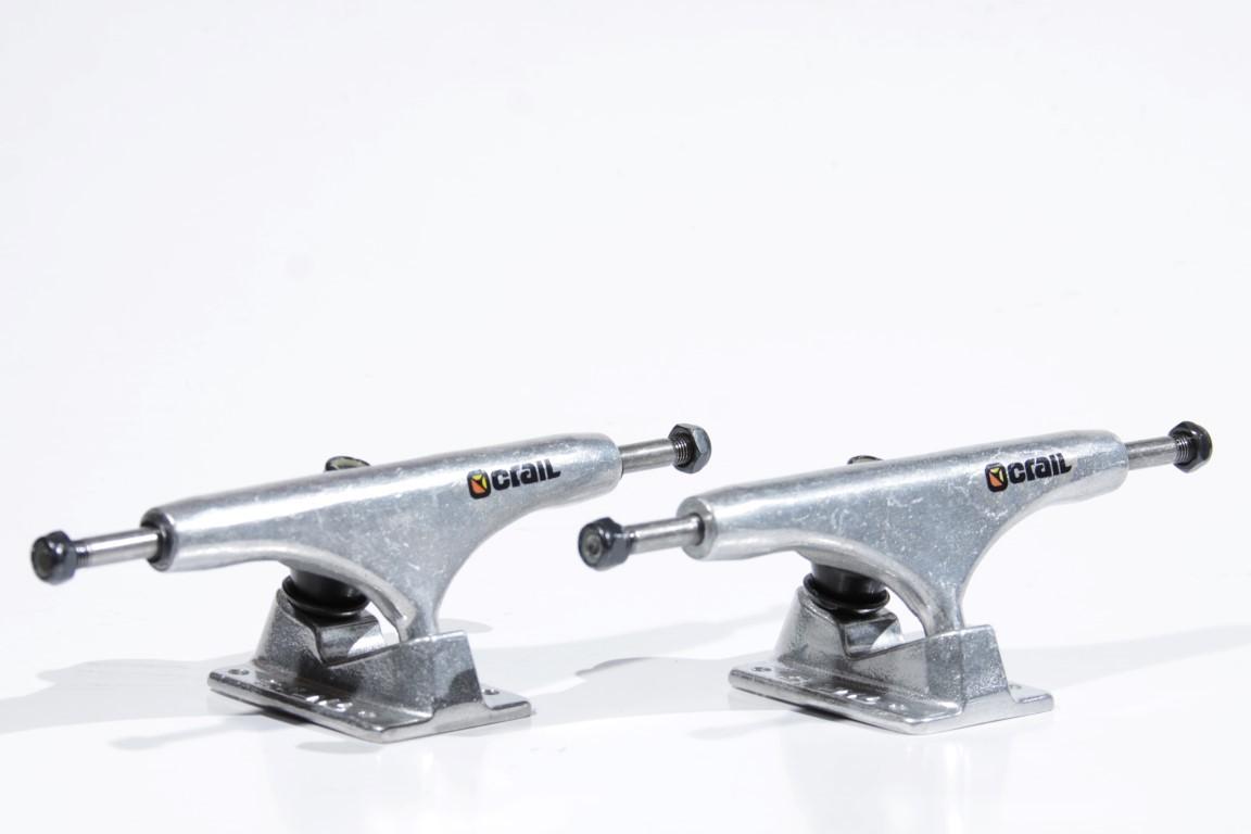 Truck Crail - High 149 Color Logo Silver  - No Comply Skate Shop