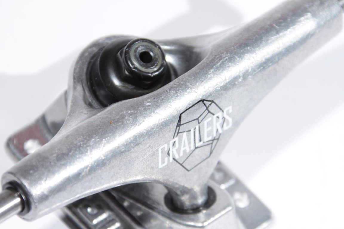 Truck Crail - Low 129 Crailers Silver  - No Comply Skate Shop