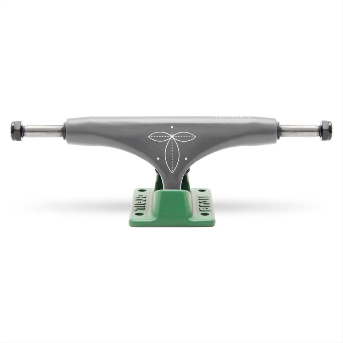 Truck Crail Mid 133 Daniel Marques Green/Grafiti  - No Comply Skate Shop