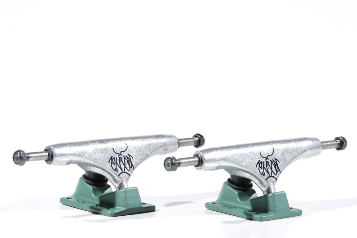 Truck Crail Mid 142 Tipografia Enxaqueca  - No Comply Skate Shop