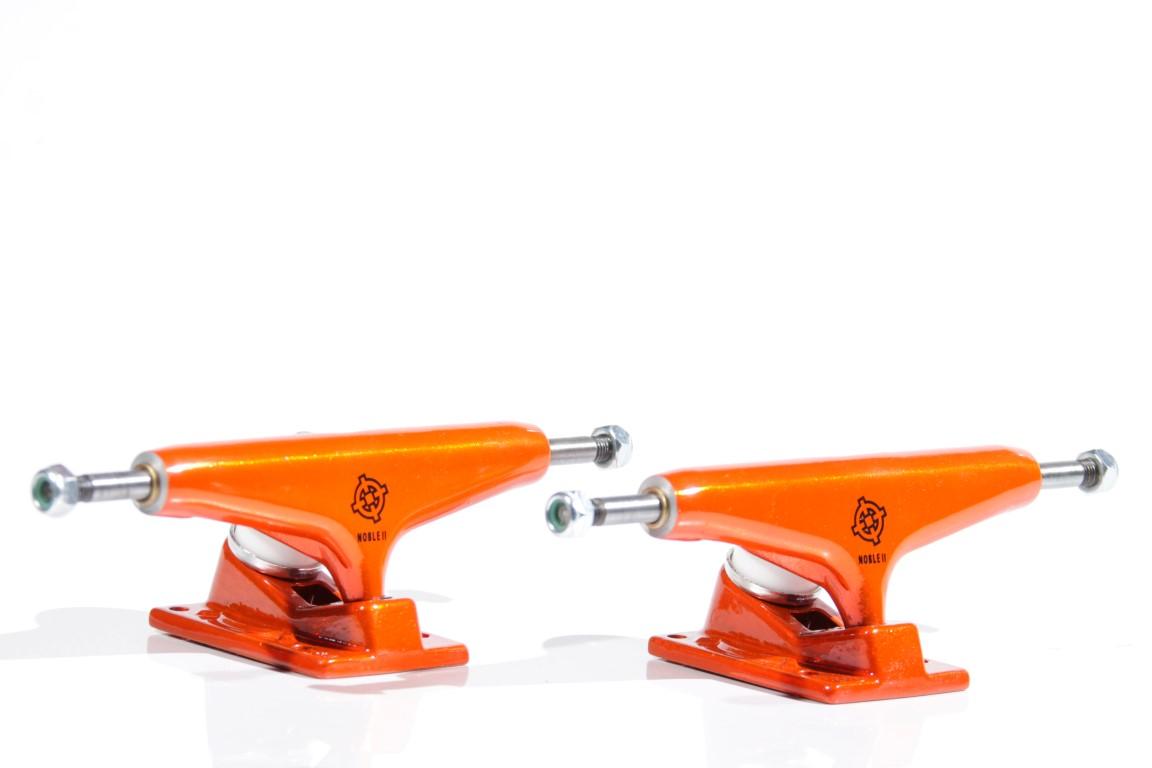 Truck Intruder - 139 Mid Noble II Orange Neon  - No Comply Skate Shop
