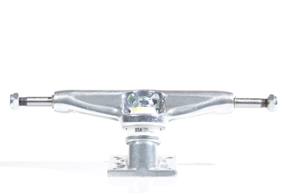 Truck Intruder - 139 Mid Pro Series II Silver  - No Comply Skate Shop