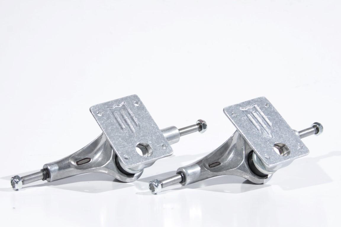 Truck Metallum - 149 Silver  - No Comply Skate Shop