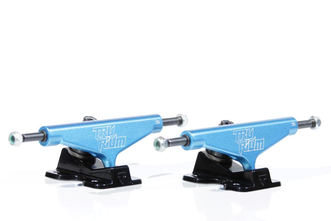 Truck Trurium - 139 Low Azul/Preto  - No Comply Skate Shop