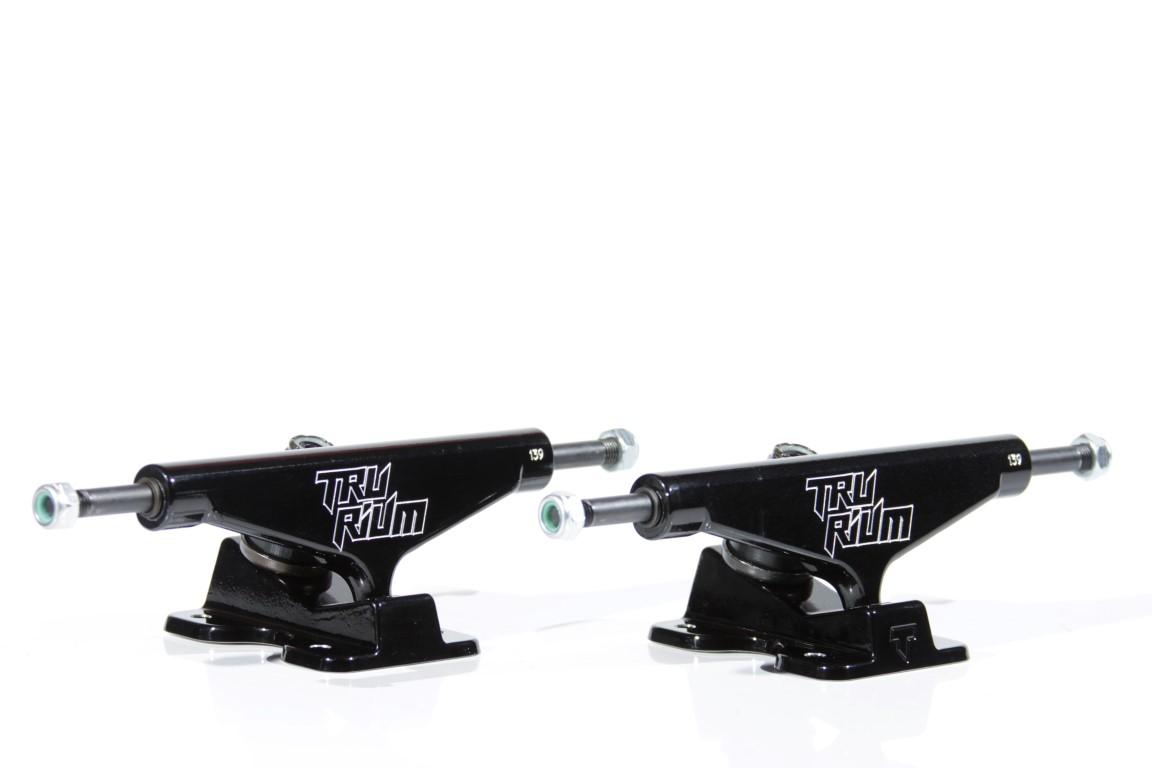 Truck Trurium - 139 Low Preto  - No Comply Skate Shop