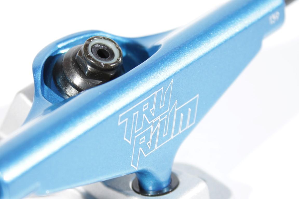 Truck Trurium - 139 Mid Azul/Jateado  - No Comply Skate Shop