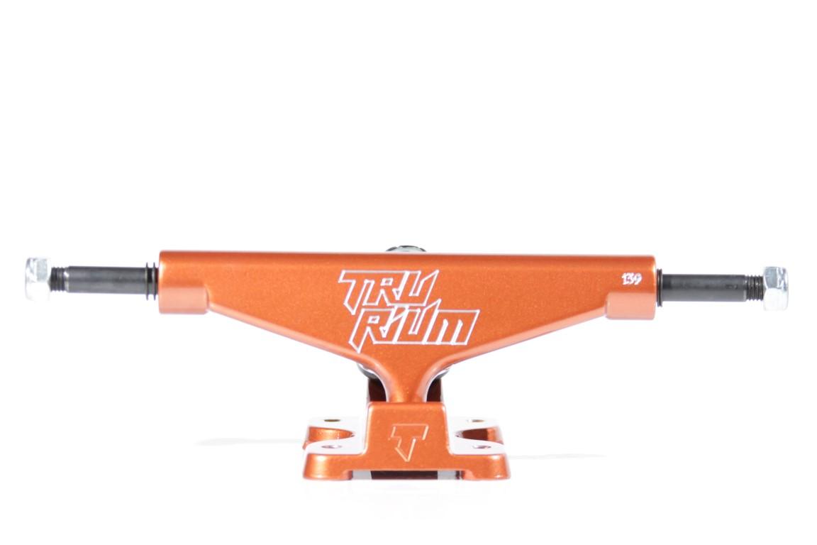 Truck Trurium - 139 Mid Laranja  - No Comply Skate Shop