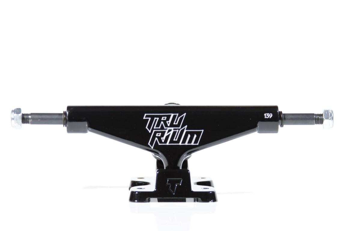 Truck Trurium - 139 Mid Preto  - No Comply Skate Shop