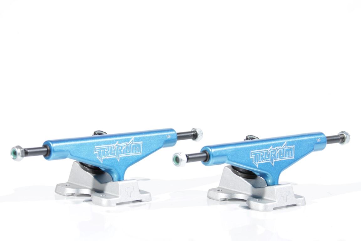Truck Trurium - 149 Mid Azul/Jateado  - No Comply Skate Shop