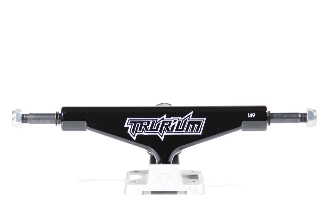 Truck Trurium - 149 Mid Preto/Jateado  - No Comply Skate Shop