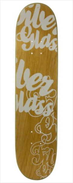 "Shape Wood Light - Fiber Glass Hostage 7.7""  - No Comply Skate Shop"