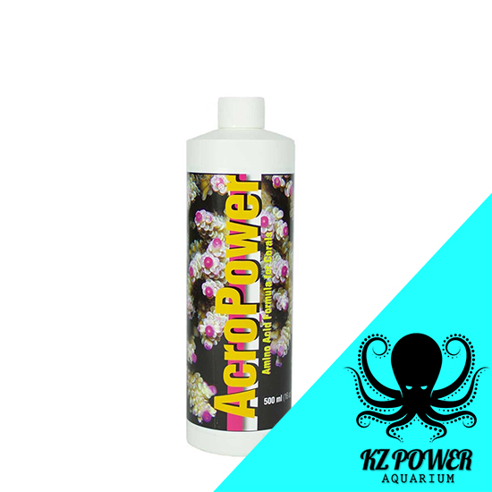 Acropower 500ml Suplemento Aminoacidos P/ Corais Trata 10000l  - KZ Power