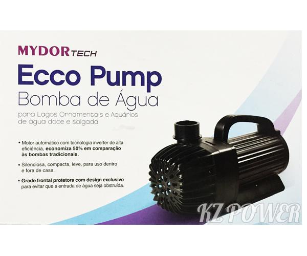 Bomba Recalque eletronica Mydor Ecco 6000 L/h. 127v.  - KZ Power