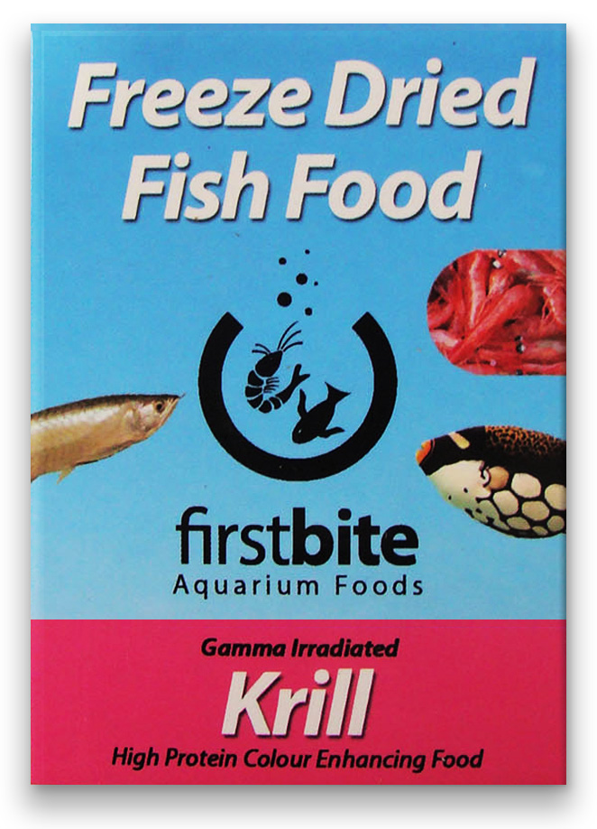 Ração Bcuk First Bite Freeze Dried Krill Superba 5 Gramas.  - KZ Power