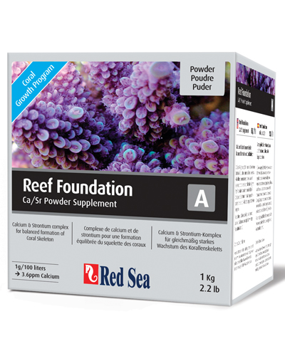 Suplemento Rcp Red Sea Reef Foundation A (ca/sr) 1 Kilo  - KZ Power