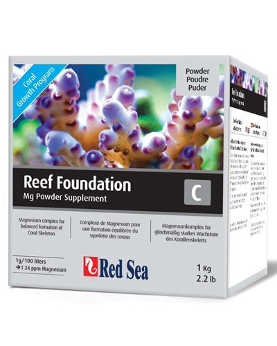 Suplemento Red Sea Rcp Reef Foundation C (mg) 1kg  - KZ Power