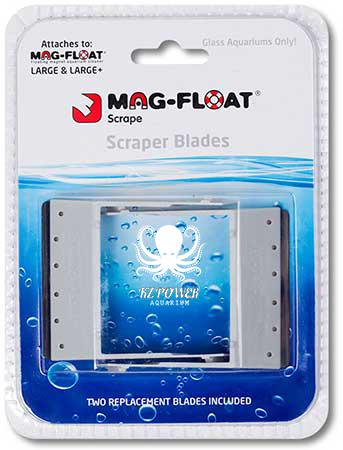 Mag Float KIt c/ 2 Laminas e Limpador Large até 16mm  - KZ Power