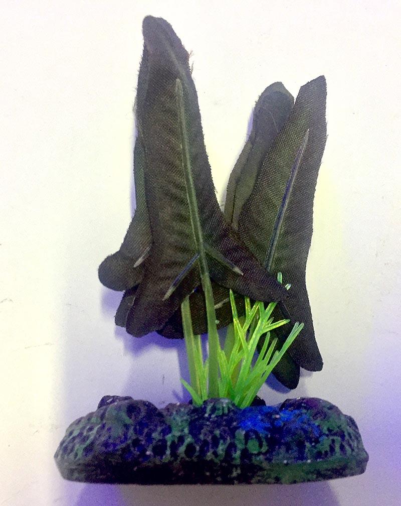 Planta Artificial P/ Aquarios Silk Ninfeia Rubra 4cm Soma 064523  - KZ Power