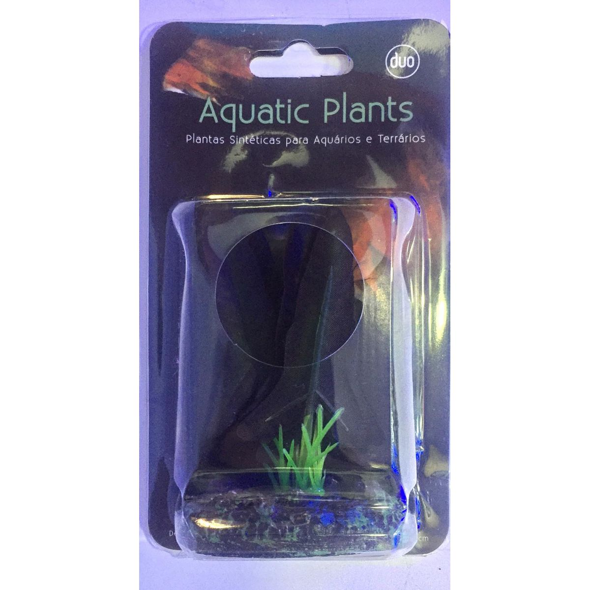Planta Artificial P/ Aquarios Silk Ninfeia Rubra 4cm Soma 064523  - KZ Power