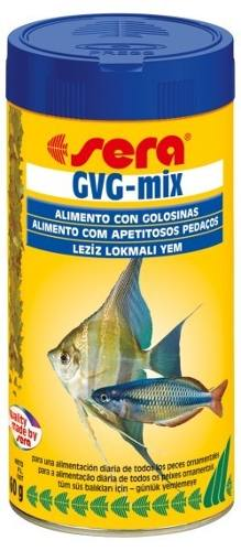 Ração Alimento Peixes Aquario Sera Gvg Mix Todos Peixes 60gr  - KZ Power