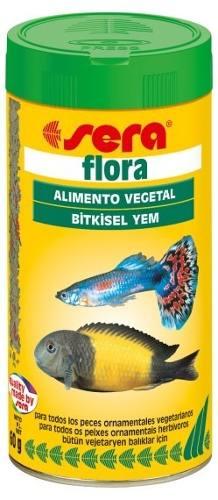 Ração Alimento Peixes Aquario Sera Flora 60gr  - KZ Power