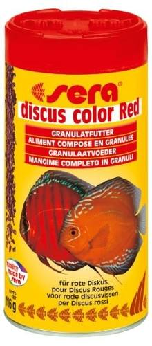 Ração Alimento Peixes Aquario Sera Disco Color Red 116gr  - KZ Power