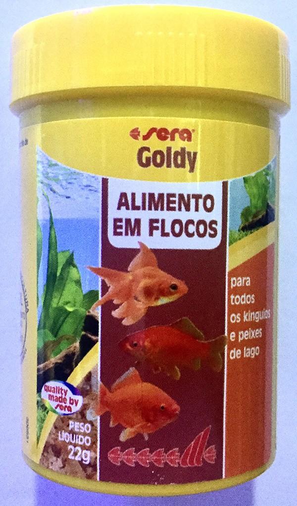 Ração Alimento Peixes Aquario Sera Goldy P/  Kinguios 22gr  - KZ Power