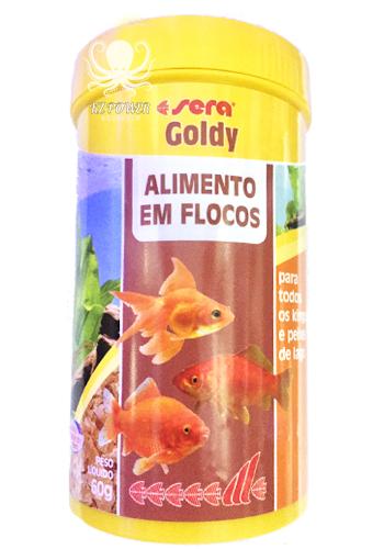 Ração Alimento Peixes Aquario Sera Goldy P/  Kinguios 60gr  - KZ Power