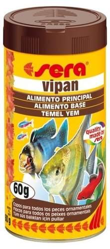 Ração Alimento Todos Os Peixes Sera Vipan 60gr  - KZ Power